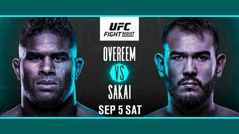 Alistair Overeem faces Augusto Sakai in this weekend