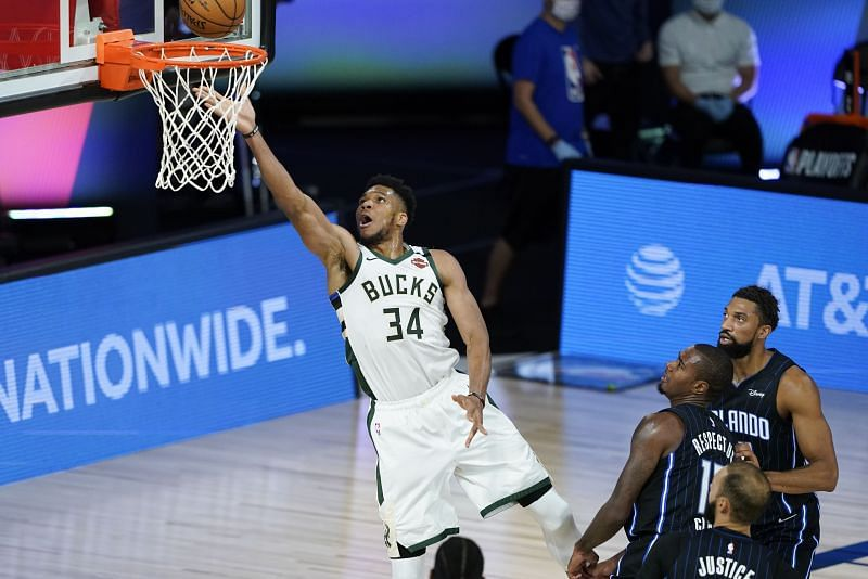 Giannis Antetokounmpo will look to lead the Milwaukee Bucks to the second round with a win tonight