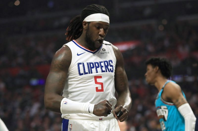 Montrezl Harrell in action for the LA Clippers
