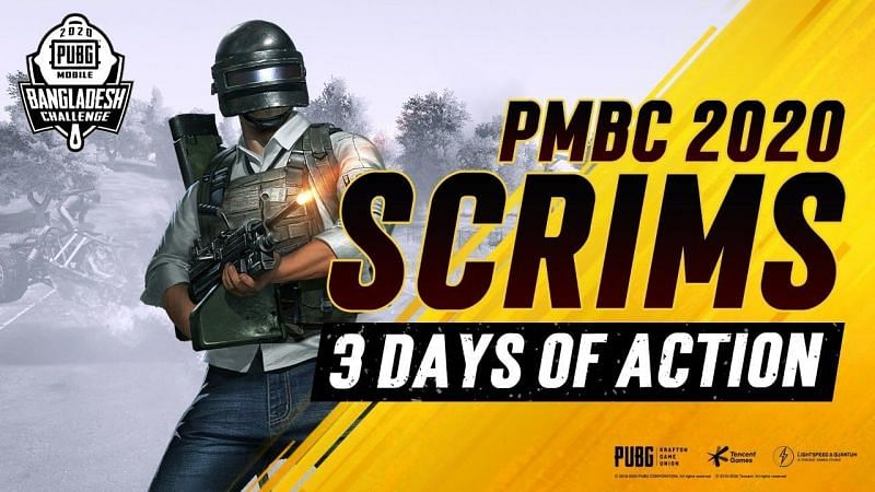 PUBG Mobile Bangladesh Challange scrims have been announced