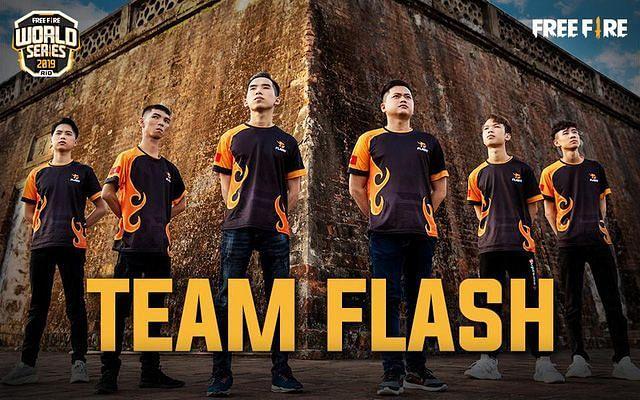 Team Flash, a Vietnamese Free Fire team (Image Credits: Esports Globe)