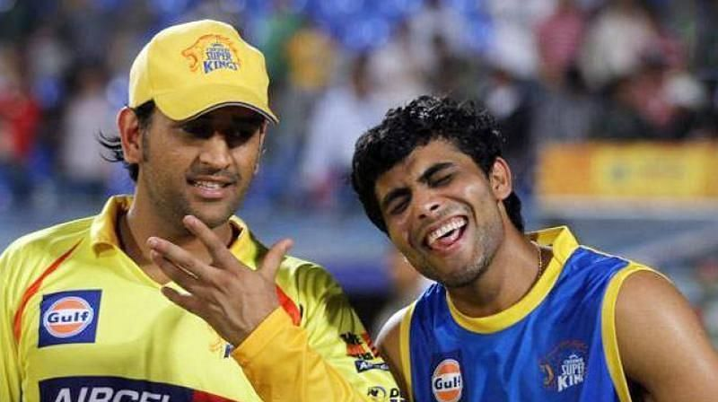 Ravindra Jadeja and MS Dhoni have been teammates at CSK for some time now