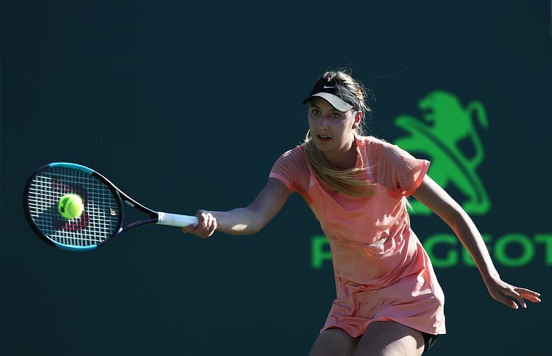 Oceane Dodin at Miami Open 2018