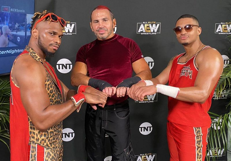How is the Hardy Party coming along? (Pic Source: AEW)