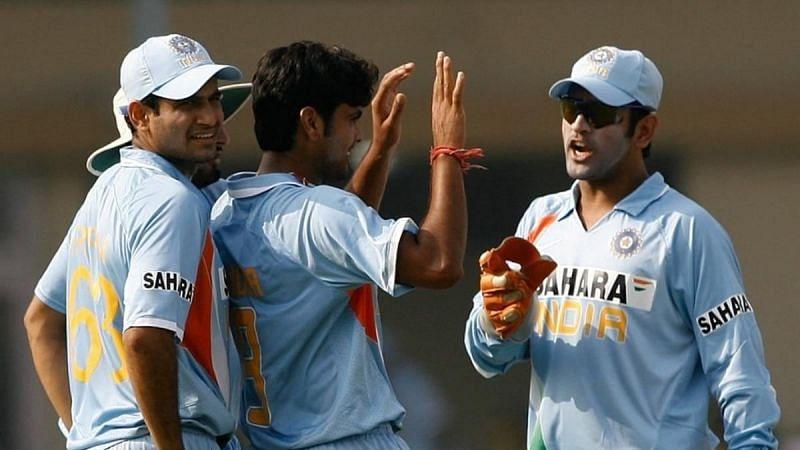 2007 टी20 वर्ल्ड कप के दौरान भारतीय टीम