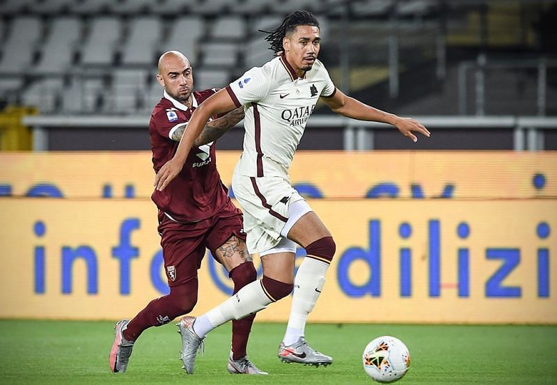Manchester United loanee Chris Smalling has been one of the standout performers for AS Roma this season