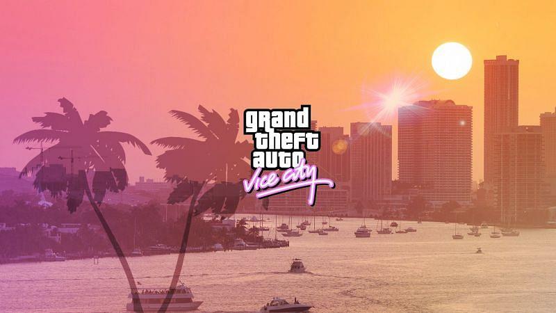 GTA Vice City(Image Credits: Wallpaperaccess)