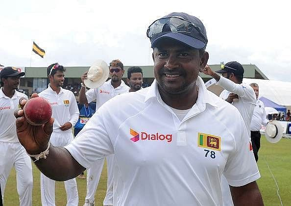 Rangana Herath is Sri Lanka