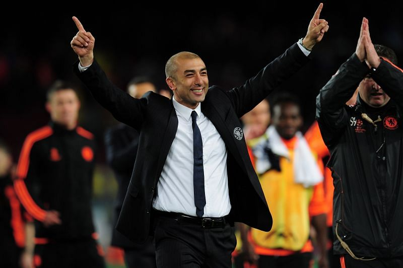 Di Matteo took over as a caretaker manager before winning the UCL