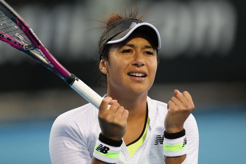 Heather Watson looks for a first US Open main draw win
