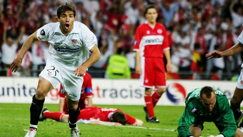 Enzo Maresca was the Man of the Match in Sevilla