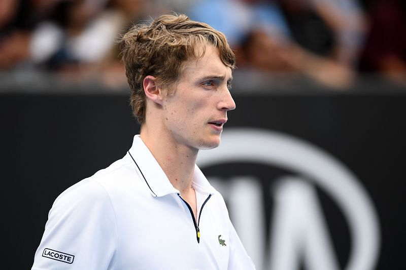 Marc Polmans scored his first Grand Slam main draw win in Melbourne this year
