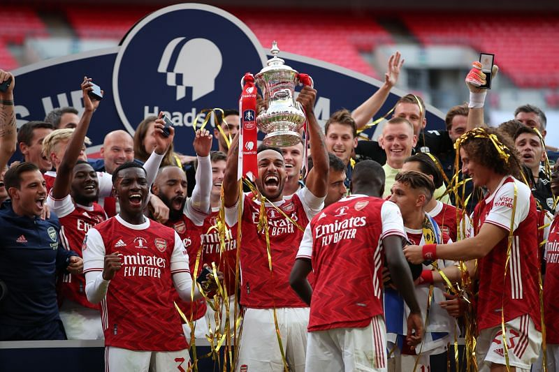 Arsenal finished their season on a high by winning the FA Cup