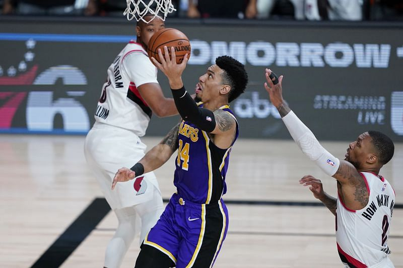 Danny Green has come alive as an offensive threat for the LA Lakers