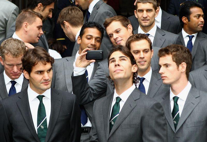Roger Federer, Rafael Nadal & Andy Murray