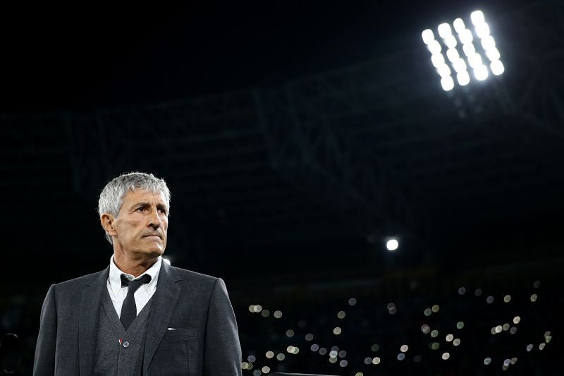 Quique Setien has new recruits to work with
