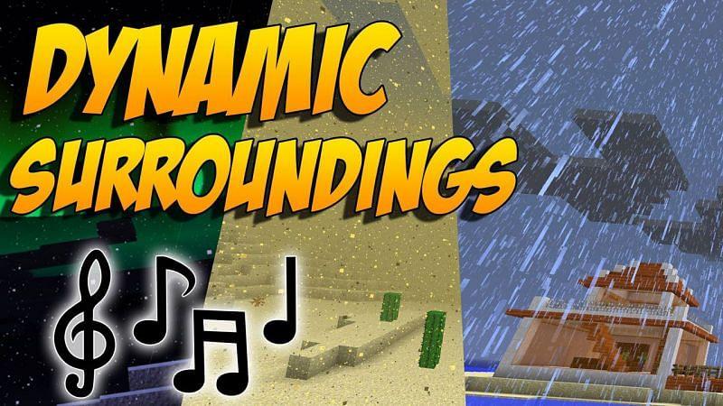 Dynamic Surroundings (Image credits: 9Minecraft)