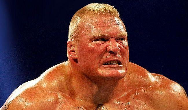 पूर्व WWE चैंपियन ब्रॉक लैसनर