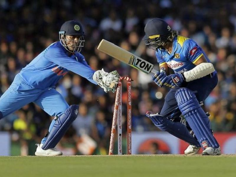 MS Dhoni ended his international career with a record 195 stumpings across formats.