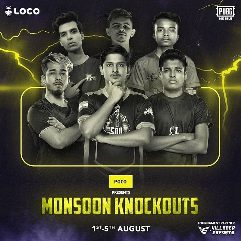 PUBG Mobile Original Monsoon Knockouts