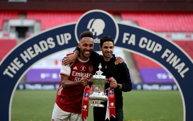 Mikel Arteta is confident that Pierre-Emerick Aubameyang will sign a new contract at Arsenal soon