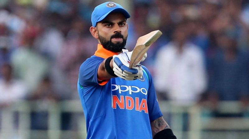 Virat Kohli is unsurprisingly the Indian batsman with the highest List A average