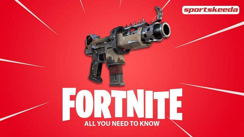 The Tactical Submachine gun in Fortnite Chapter 2 Season 4