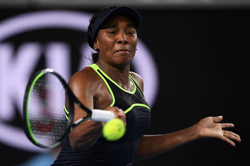 Venus Williams was firing forehand winners at will during her matches in Lexington