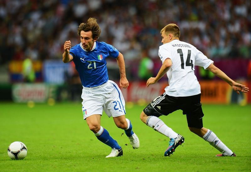 Andrea Pirlo is a true great of the Italian game