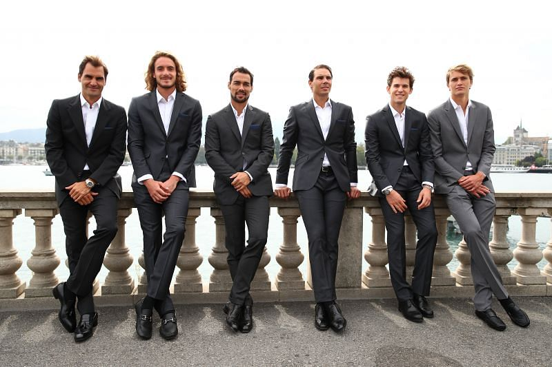 Stefanos Tsitsipas was a part of Team Europe along with Roger Federer and Rafael Nadal
