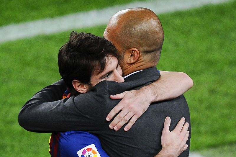 Pep Guardiola and Lionel Messi could reunite this summer