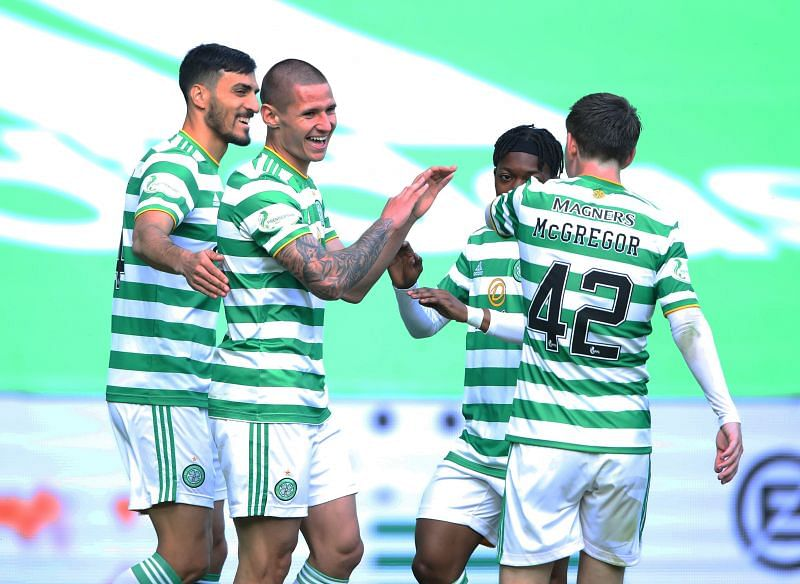Celtic romped to a 5-1 win in their season opener.