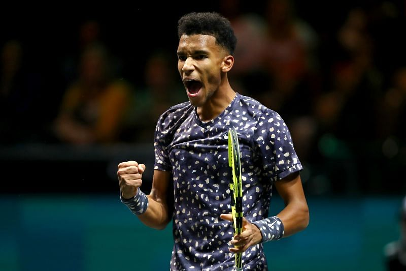 Felix Auger-Aliassime is yet to play a match against Roger Federer