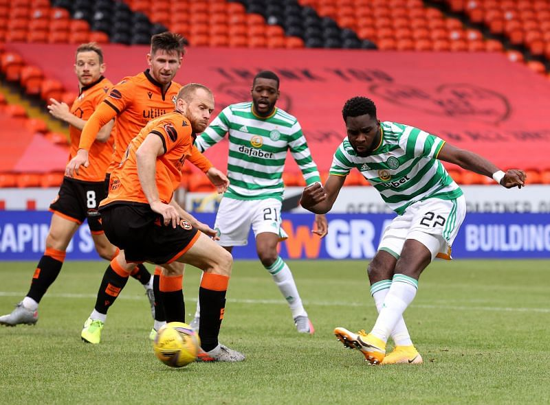Edouard has been brilliant for Celtic.