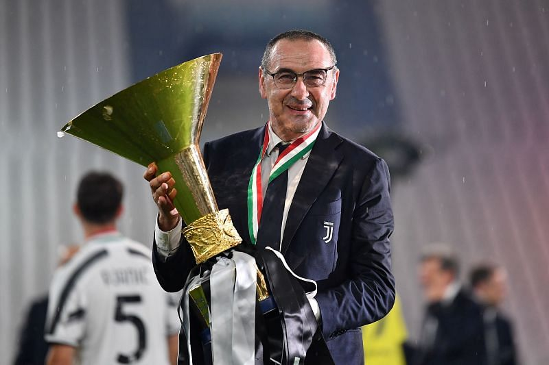 Maurizio Sarri has been relieved of his duties as Juventus