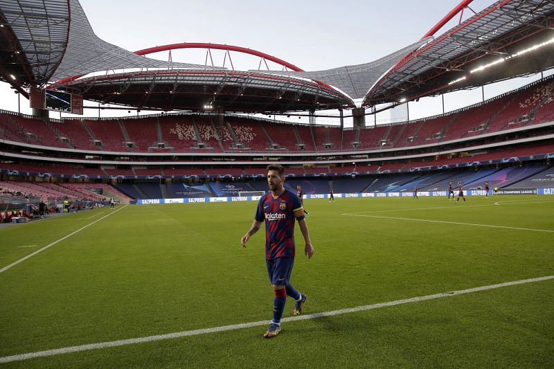 Lionel Messi has not turned up for Barcelona