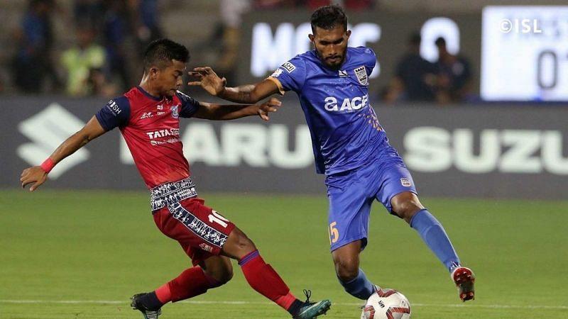 Subhasish Bose representing Mumbai City FC (Photo: ISL)