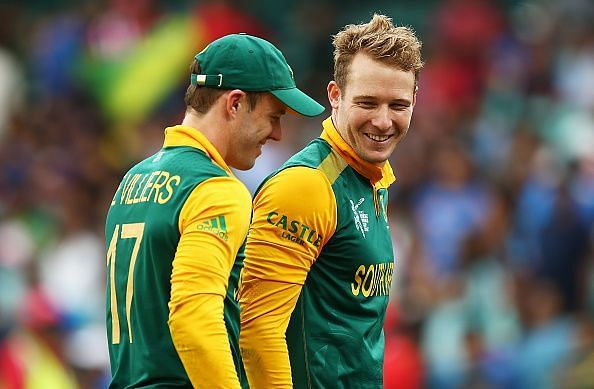 David Miller stated that he always tried to learn a lot from AB de Villiers about his mindset going into a game