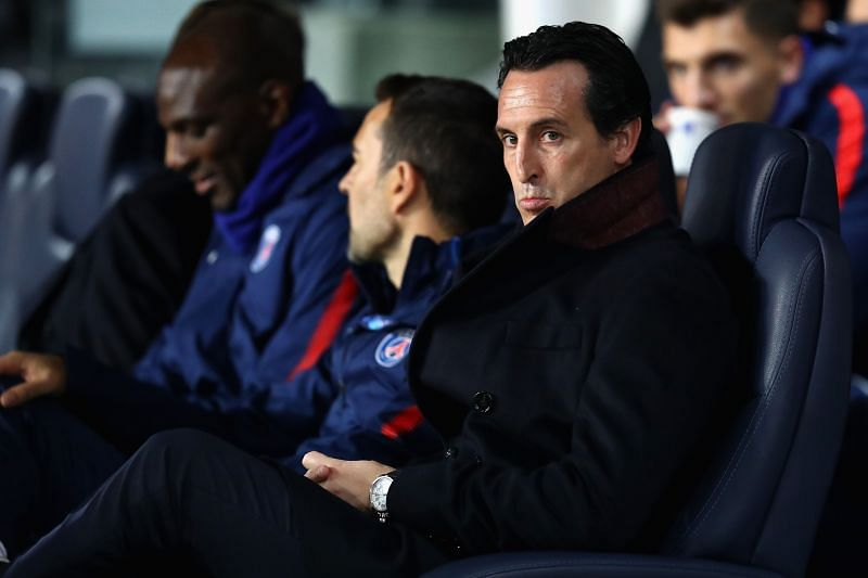 Emery endured an underwhelming spell in the French capital