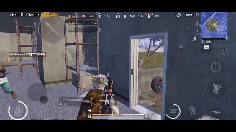 Soul Regaltos during a game in PUBG Mobile