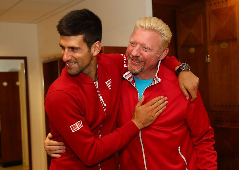 Boris Becker also talked about the difference between Novak Djokovic and Dominic Thiem