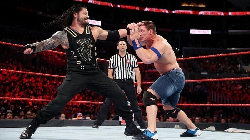 रोमन रेंस vs जॉन सीना