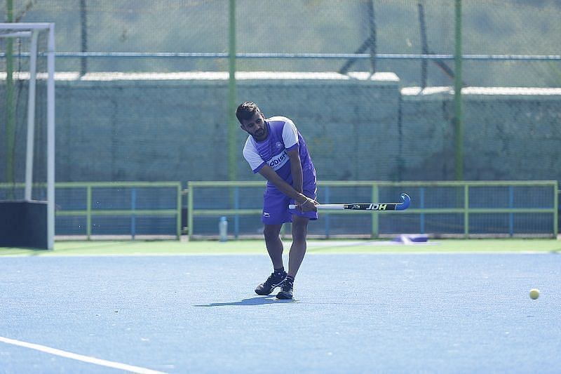 Manpreet Singh is the driving force behind the Indian hockey team