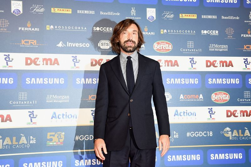 Andrea Pirlo was appointed Juventus manager shortly after the side crashed out of the UEFA Champions League this season