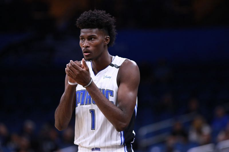 Jonathan Isaac in action for the Orlando Magic