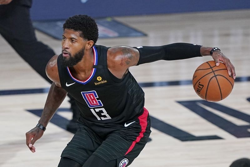 Paul George in action for the LA Clippers