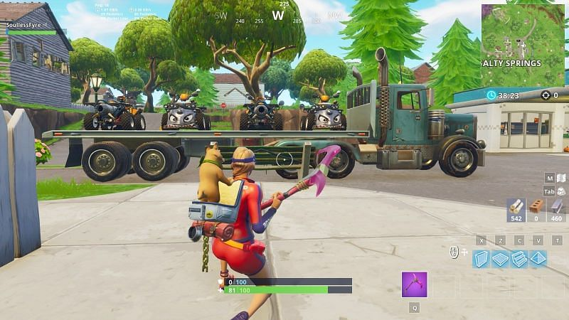 Fortnite Cars Update Release Date Vehicle Details Spawn Locations Refuel Mechanism And More