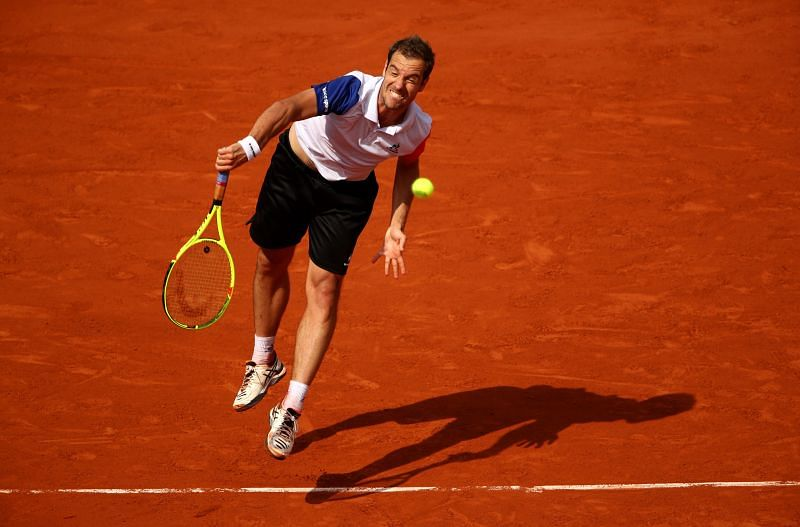 Richard Gasquet at the 2016 French Openx