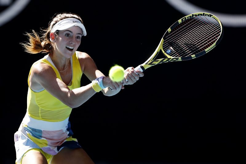 CiCi Bellis has never played Oceane Dodin before