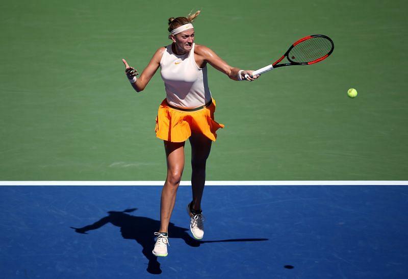 Petra Kvitova had a good run at exhibition tournaments during the suspension
